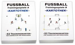 FUSSBALL - Kartotheken SET Trainingsspiele A+B