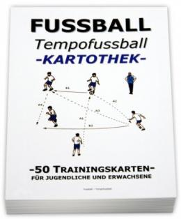 FUSSBALL Trainingskartothek - Tempofussball (One-Touch)