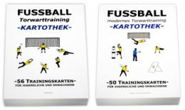 FUSSBALL Trainingskartotheken SET - Torwarttraining (1.+2. Teil)
