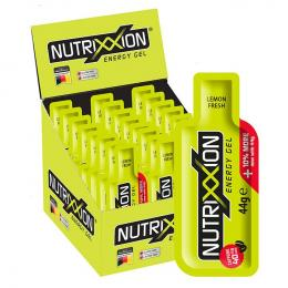 NUTRIXXION Lemon Fresh m. Koffein 24 Stck Energy Gel, Energie Gel, Sportlernahru