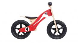 Rebel Kidz Wood Air 12 Zoll RETRO RACER ROT / WEISS