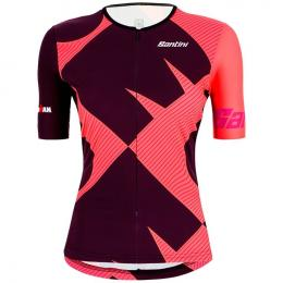 SANTINI Ironman Cupio Damen Tri Top, Größe S, Triathlon Shirt, Triathlon Kleidun