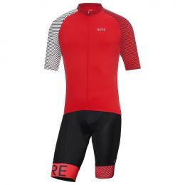Set (Radtrikot + Radhose) GORE WEAR C5 Optiline Set (2 Teile), für Herren